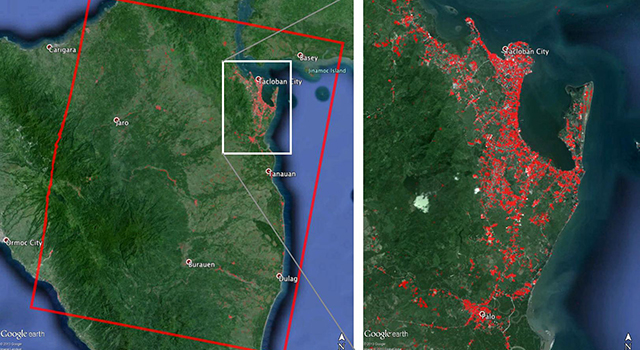 NASA-Generated Damage Map To Assist With Typhoon Haiyan Disaster Response