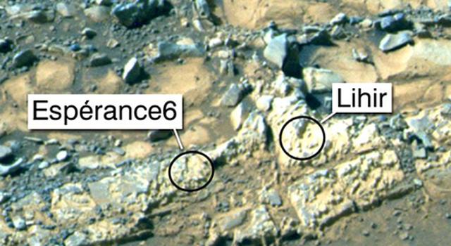 'Esperance6' and 'Lihir' Rover Targets