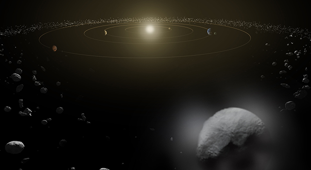 Artist's concept of Ceres