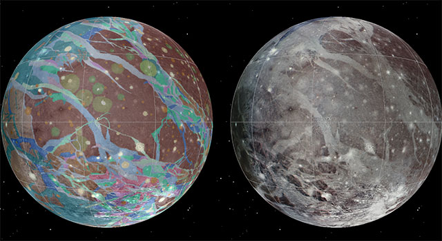 Ganymede Global Geologic Map and Global Image Mosaic