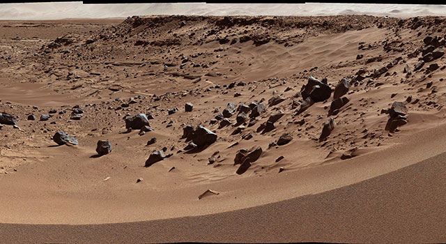 Martian Valley May Be Curiosity's Route
