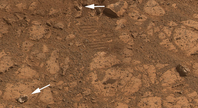 Where Martian 'Jelly Doughnut' Rock Came From