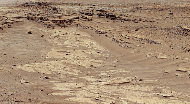 Differential Erosion at Work on Martian Sandstones