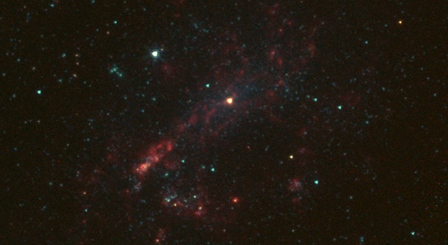 Bulgeless Galaxy Hides Black Hole