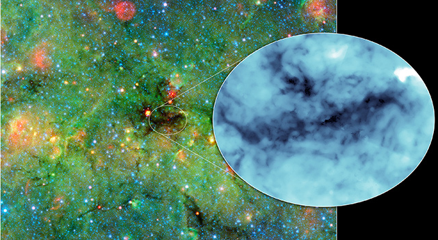 Mapping the Densest Dusty Cloud Cores