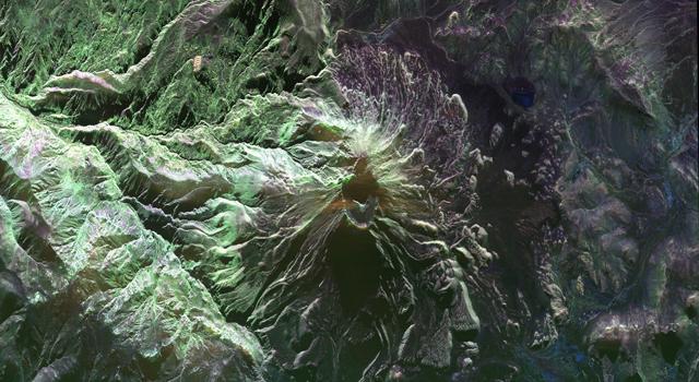Peru's Ubinas volcano