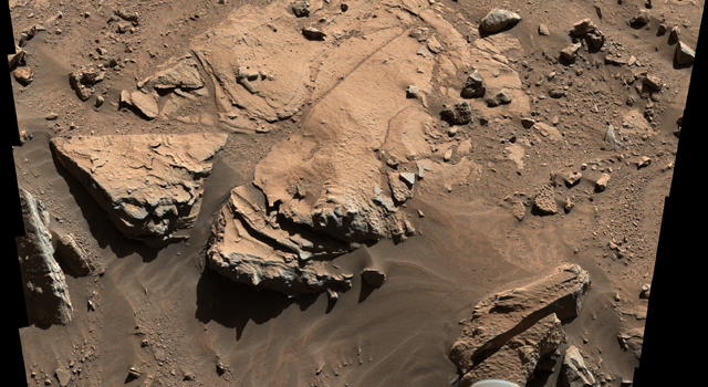 Sandstone Target 'Windjana' May Be Next Martian Drilling Site