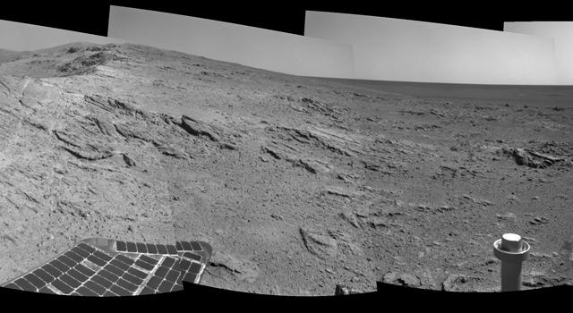 Mars Crater rim