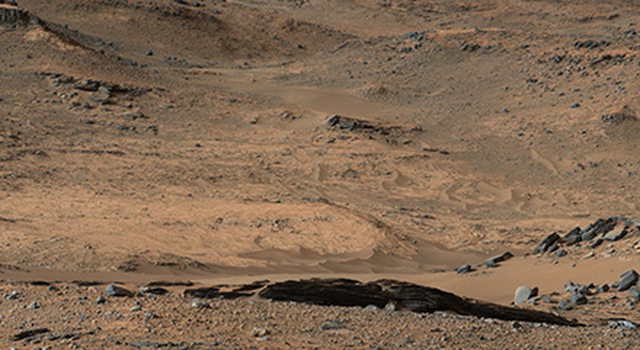 This image from NASA's Mars Curiosity rover shows the