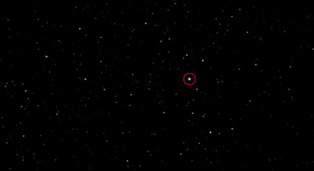 European spacecraft on comet