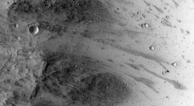 Boulder on Mars
