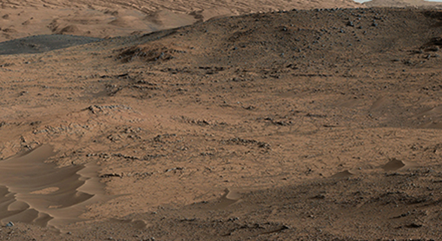 Curiosity Mars Rover's Approach to 'Pahrump Hills'