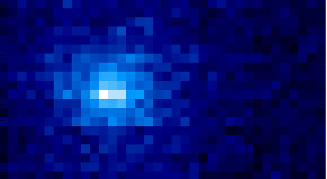 MAVEN Ultraviolet Image of Comet Siding Spring's Hydrogen Coma