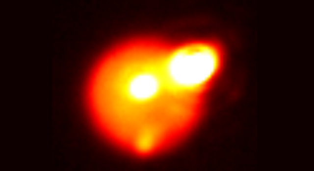 Bright Outburst on Io