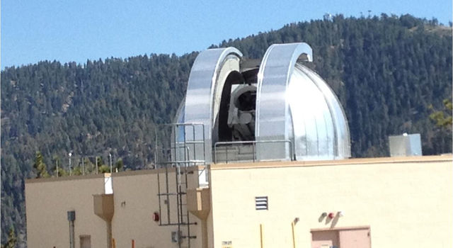 OPALS communicates with the Optical Communications Telescope Laboratory (OCTL) dome, located in Table Mountain, California.