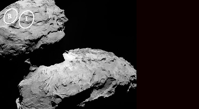 Two Small-Lobe Landing Sites for Rosetta