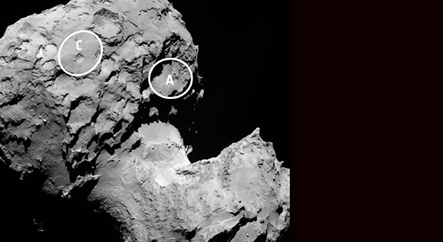 Two Large-Lobe Landing Sites for Rosetta