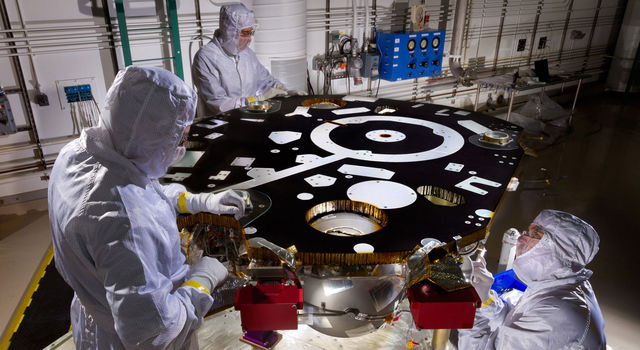 Work on NASA's InSight Lander Starts New Phase