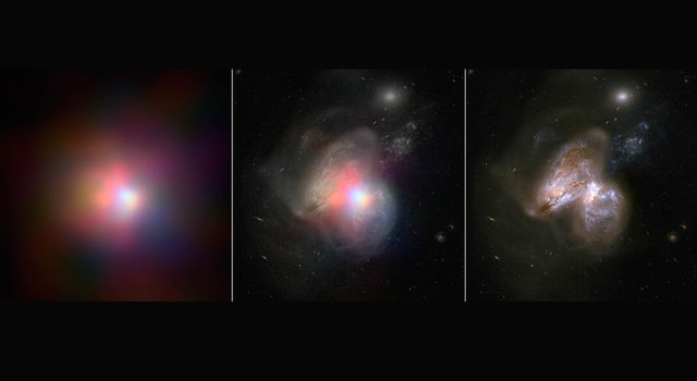 Tale of Two Black Holes
