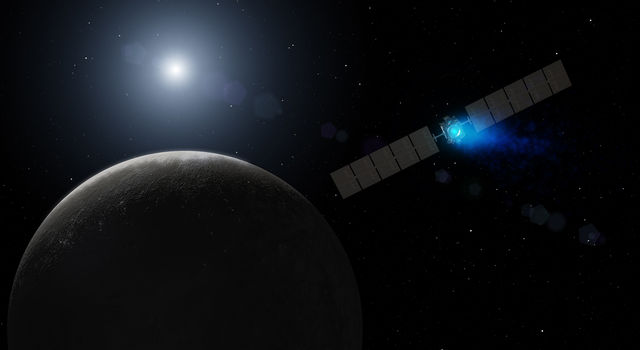 Dawn's Arrival at Dwarf Planet