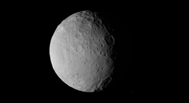 'Pancake' Feature on Ceres