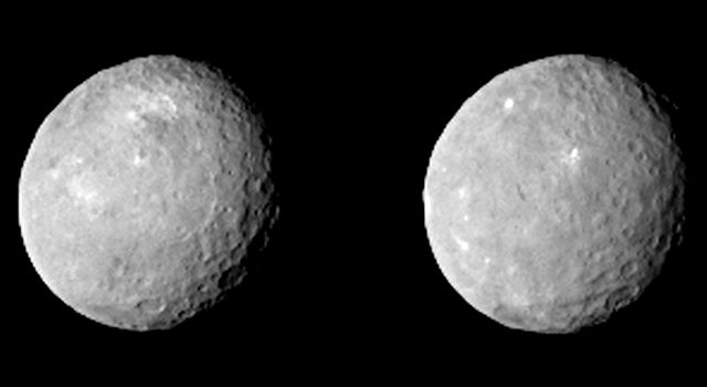 Two views of Ceres