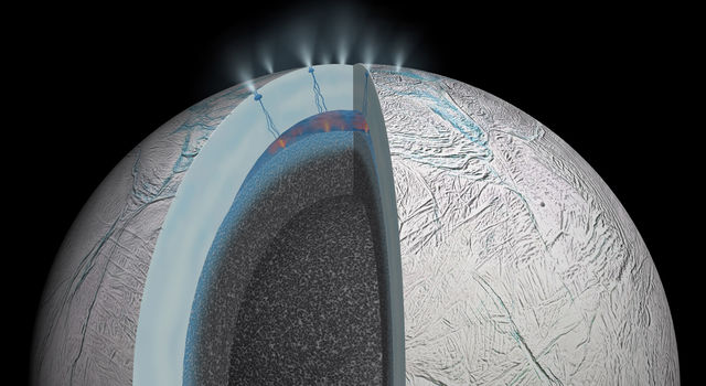 Enceladus: Possible Hydrothermal Activity