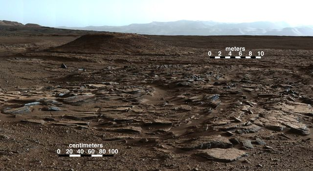 Sets of Beds Inclined Toward Mount Sharp