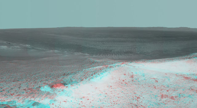 High Viewpoint for 11-Year-Old Mars Mission (Stereo)