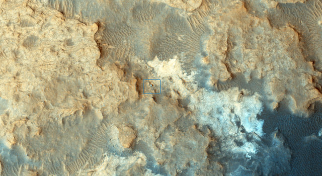 Pahrump Hills on Mars