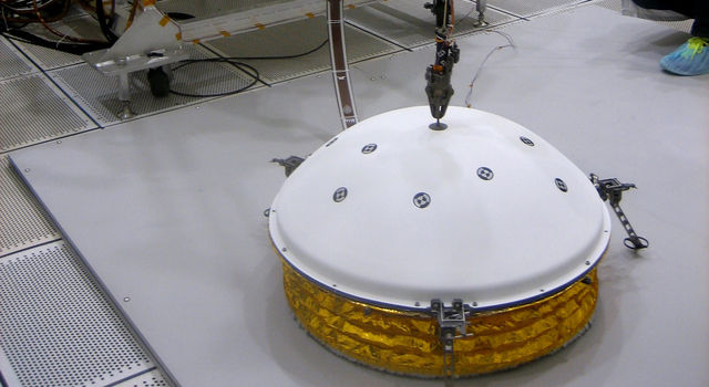 Testing for Instrument Deployment by InSight's Robotic Arm