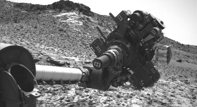 Curiosity's arm
