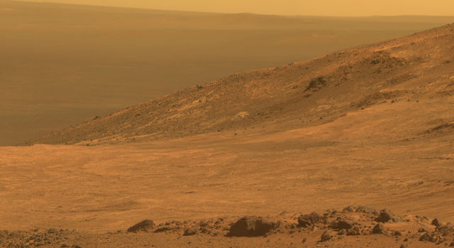 Mars 'Marathon Valley' Overlook