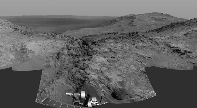 Opportunity's Approach to 'Marathon Valley'