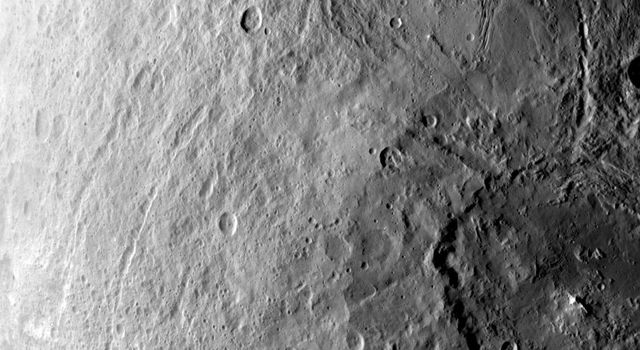 Ceres' Southern Hemisphere in Survey