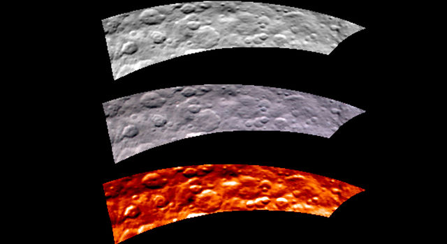 VIR Image of Ceres, May 2015
