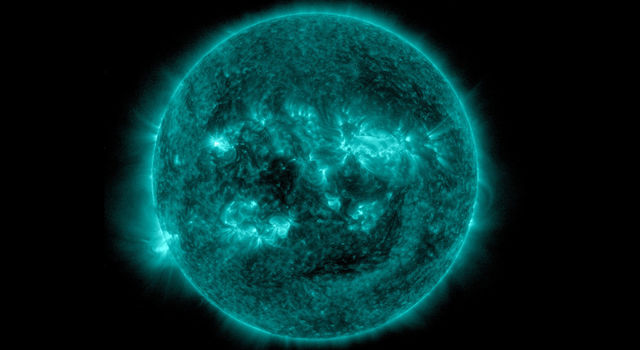 Solar Activity Seen at Sunspot Site Tracked by Mars Rover
