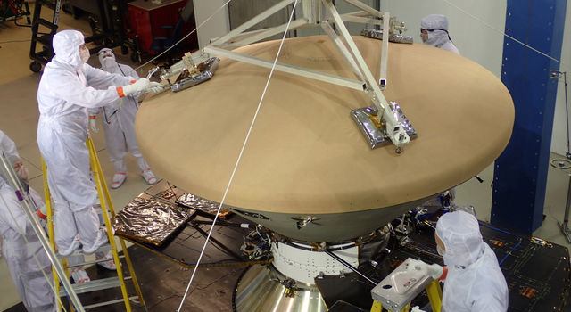 Preparing NASA's InSight Spacecraft for Vibration Test