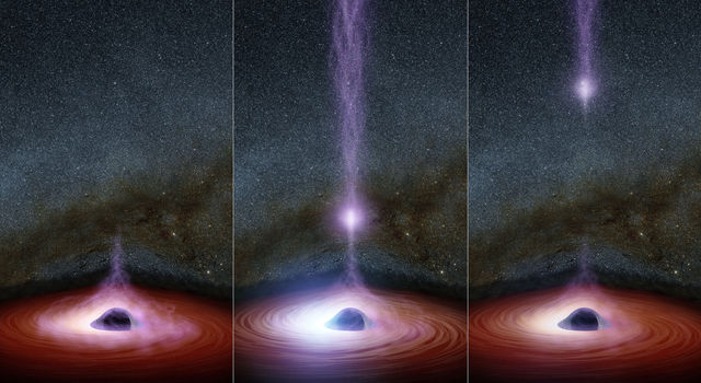 The Anatomy of a Black Hole Flare