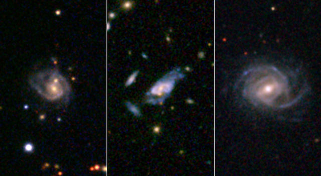 Gargantuan 'super spiral' galaxies loom large in the cosmos