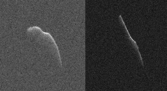 Radar Images of 'Christmas Eve' Asteroid 2003 SD2020