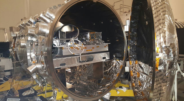 The vacuum chamber at NASA's JPL, used for testing WFIRST and other coronagraphs.
