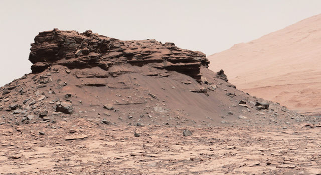 Martian Mesas in 'Murray Buttes' Area, Sol 1434
