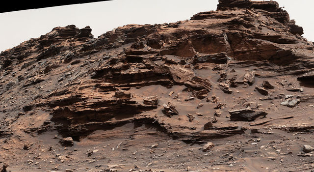 Butte 'M9a' in 'Murray Buttes' on Mars