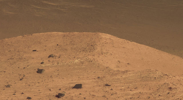This Sept. 21, 2016, scene from the panoramic camera (Pancam) on NASA's Mars Exploration Rover Opportunity.
