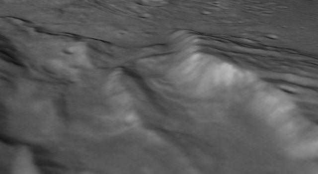 Pluto's present, hazy atmosphere