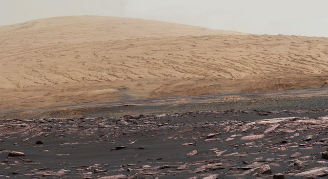 Five years since it landed near Mount Sharp on Mars in August 2017
