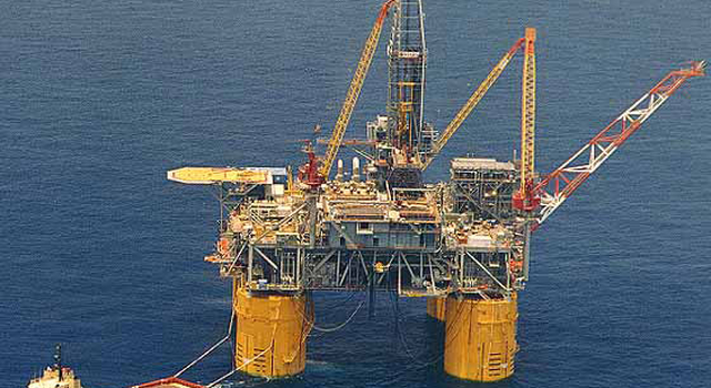 Shell Oil platform
