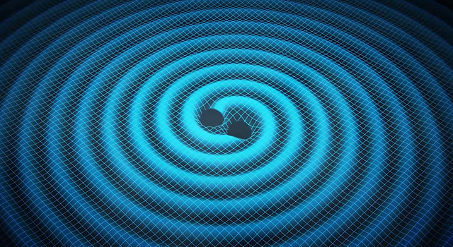 Black Holes Make Waves in Ocean of Space-Time