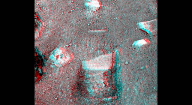 Stereo View of Phoenix Test Sample Site